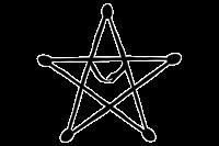 Pempocelon (Gaulish Five Pointed Star)