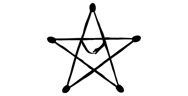 Pempocelon (Gaulish Five Pointed Star)